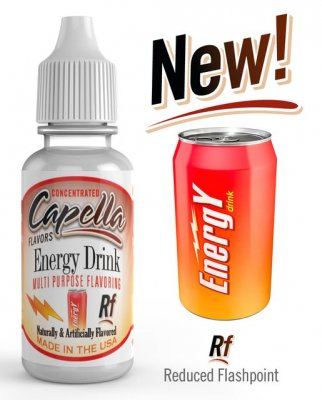 Capella Aroma RF Energy Drink 13ml/0mg