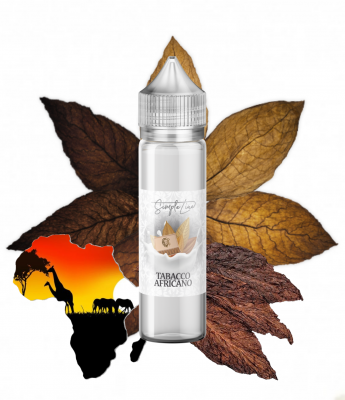 Tabacco Africano 40ml/0mg 50/50 Simple Line Shortfill